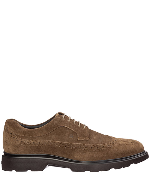 Brogues Hogan h393 hxm3930bx60ldus413 marrone