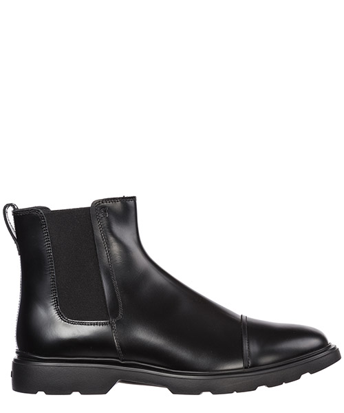 Bottines Hogan h393 hxm3930w330dsib999 nero