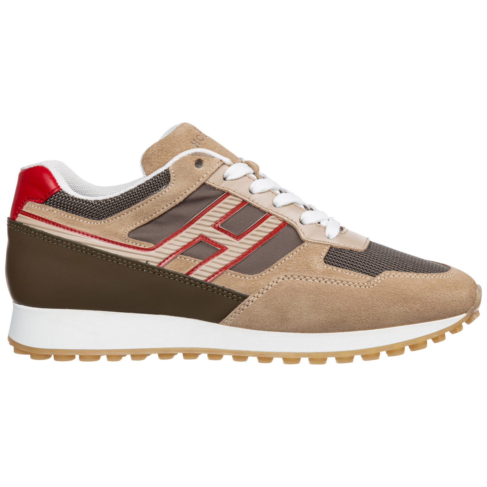Hogan Sneakers MEN'S SHOES SUEDE TRAINERS SNEAKERS H383