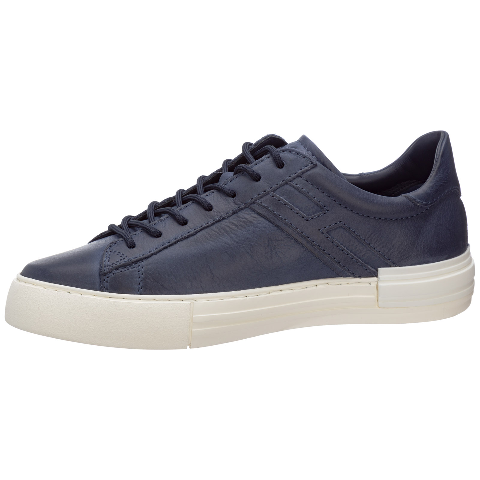 Men's shoes leather trainers sneakers rebel