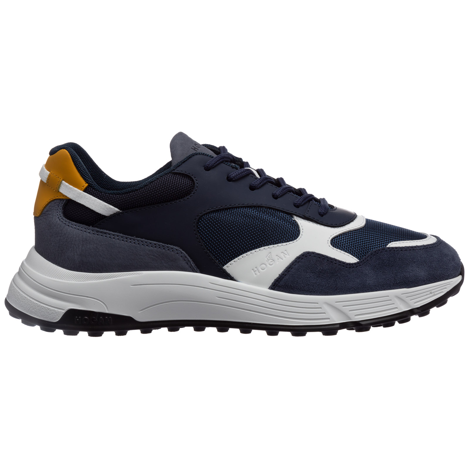 Scarpe sneakers uomo in pelle hyperlight