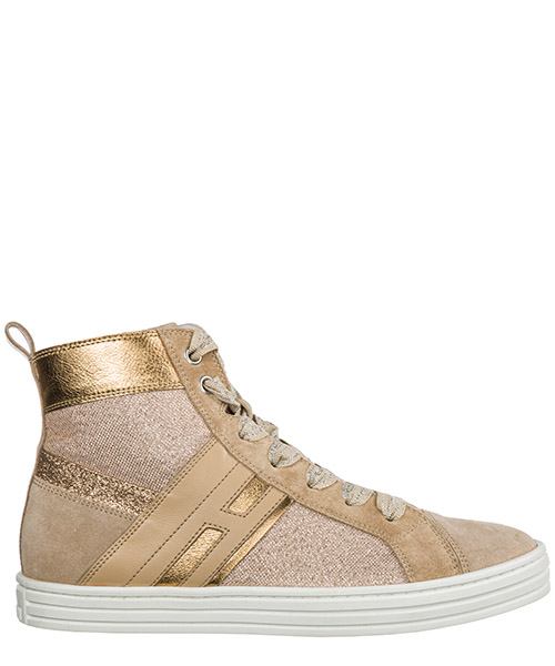High-top sneakers Hogan R141 HXR1410K220ICS0KLS beige