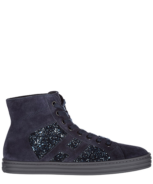 High-top sneakers Hogan r141 hxr1410z270hayu810 blu denim