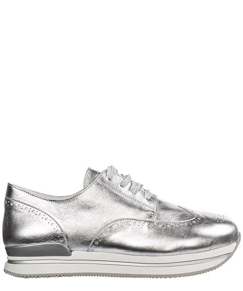 Sneakers Hogan h222 hxr2220k350fh0b200 argento