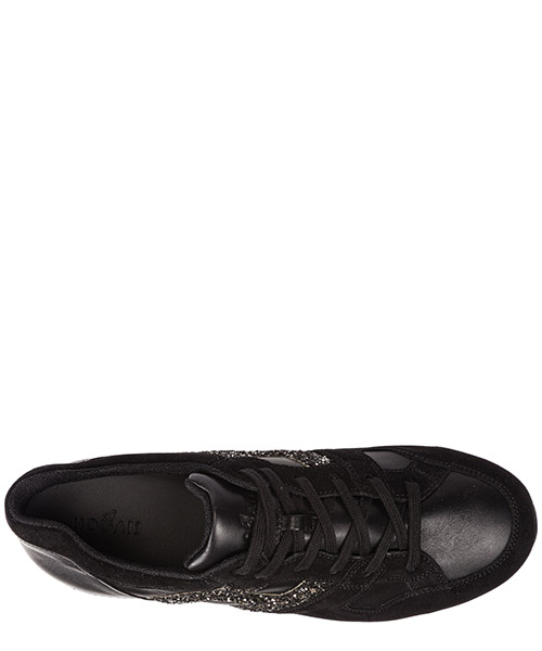 Chaussures enfant baskets sneakers filles en daim h222 secondary image