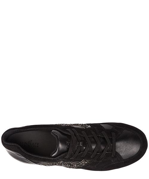 Scarpe sneakers bimba bambina camoscio h222 secondary image