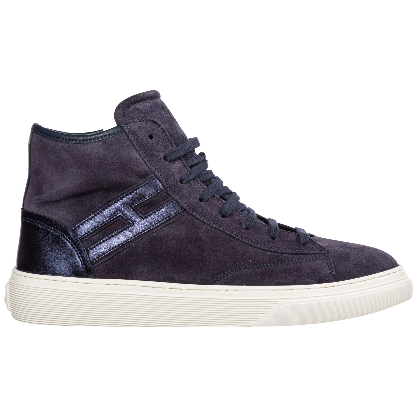 Hogan Sneakers BOYS SHOES BABY CHILD HIGH TOP SNEAKERS SUEDE J365
