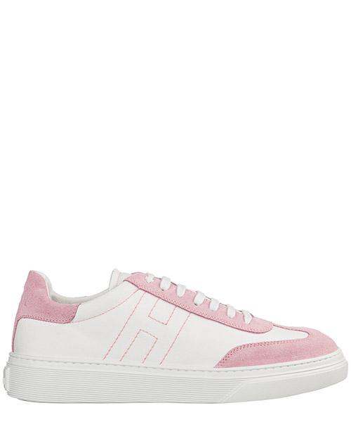 e0e910da5a614 Basket Hogan H365 HXR3650BL80KNK239M bianco Chaussures baskets sneakers  enfant ...
