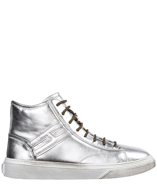 High-top sneakers Hogan j365 hxr3650k371fh0b200 argento