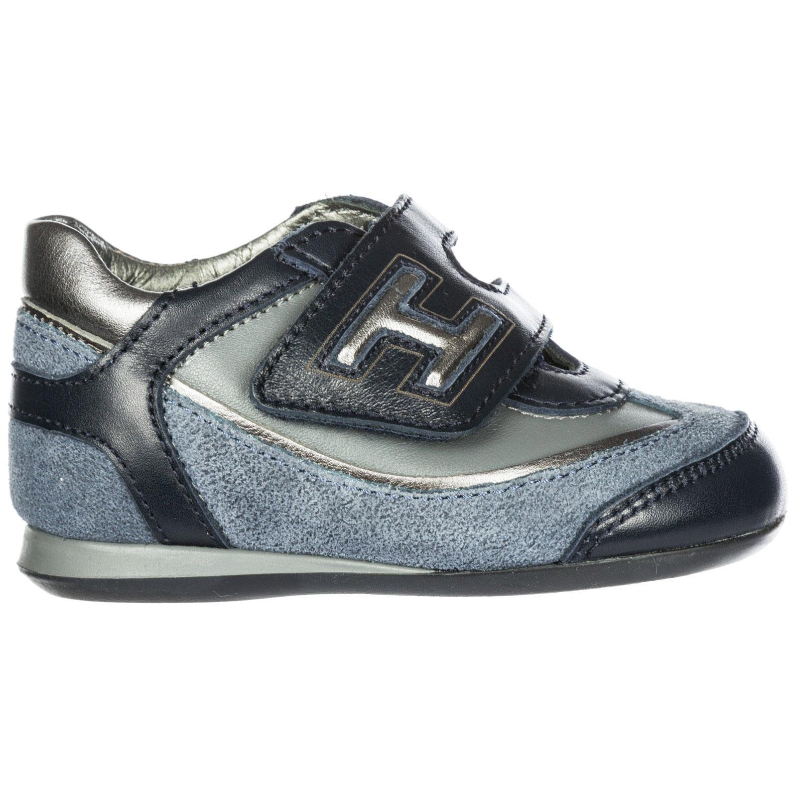 Hogan Hogan Olympia Sneakers Z Blublu Denim Scurobianco