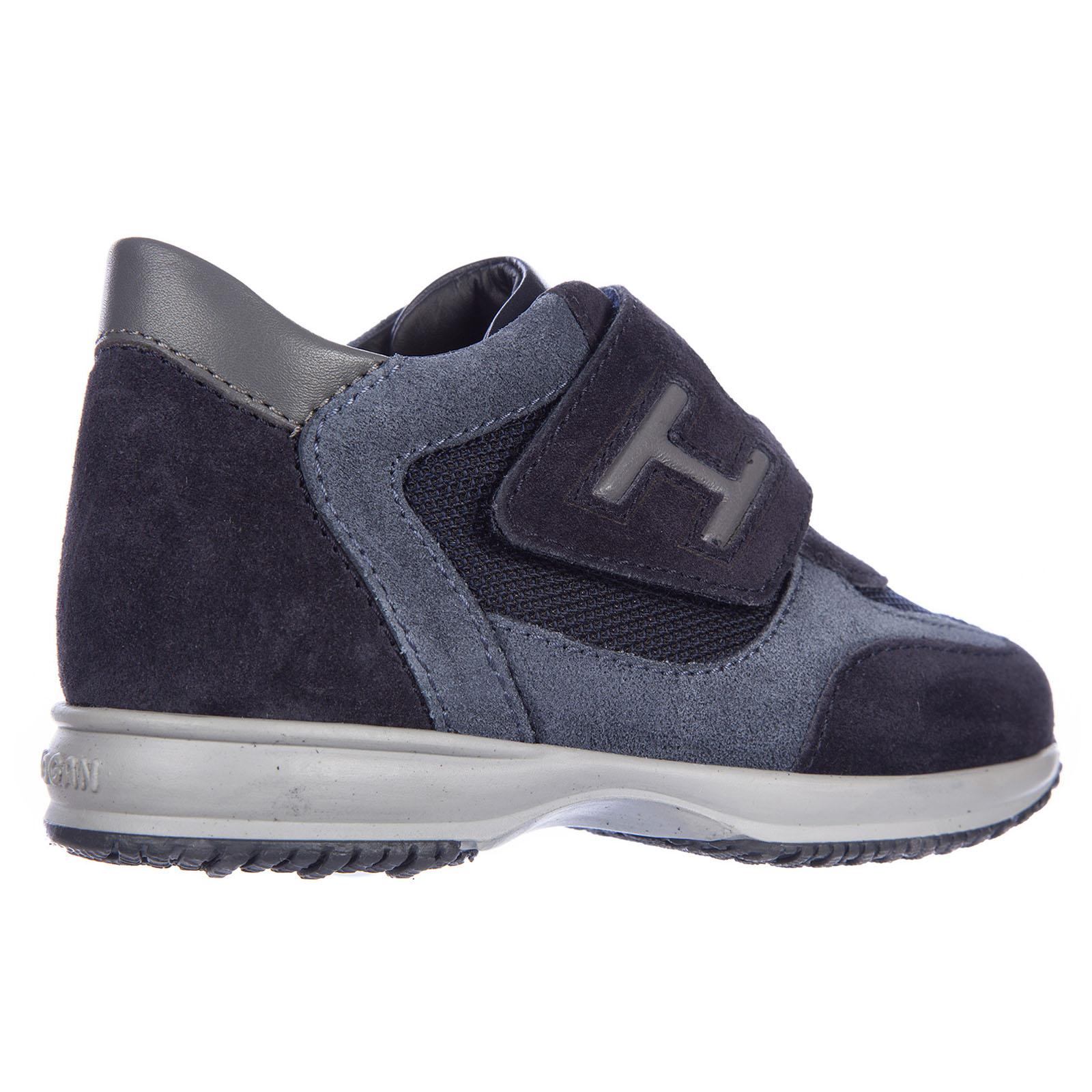 Scarpe sneakers bimbo bambino camoscio interactive