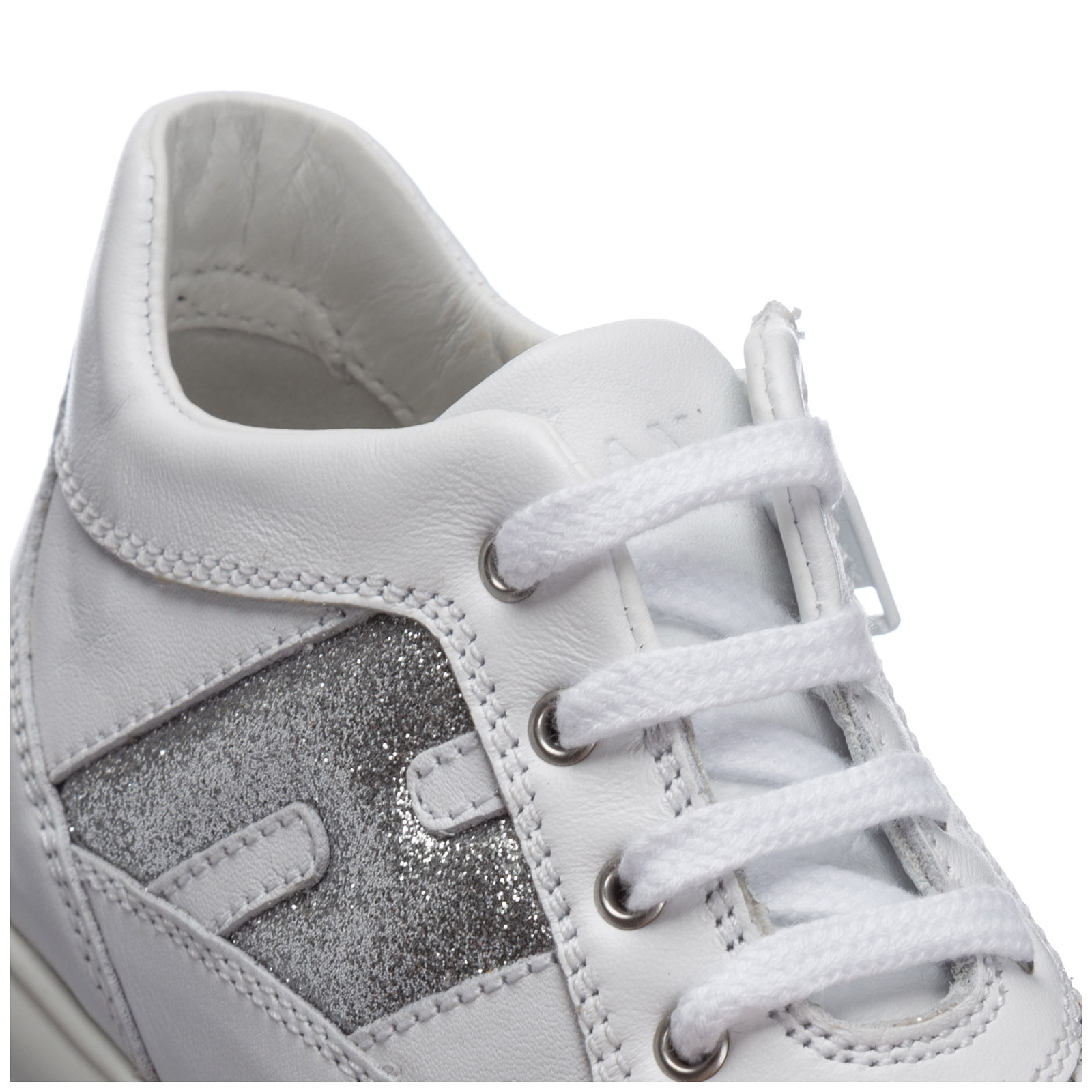 Scarpe sneakers bimba bambina pelle interactive