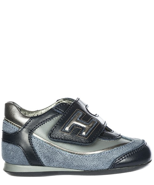 Sneakers Hogan Olympia HXT057096504SM300Q blu denim scuro