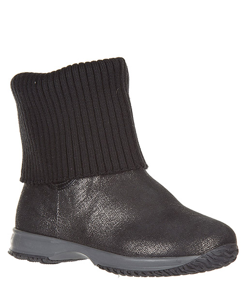 Bottines filles enfant en daim s interactive secondary image
