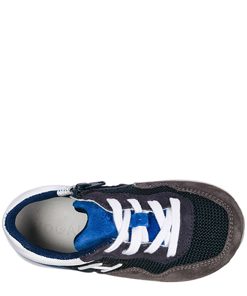Boys shoes child sneakers suede leather interactive secondary image