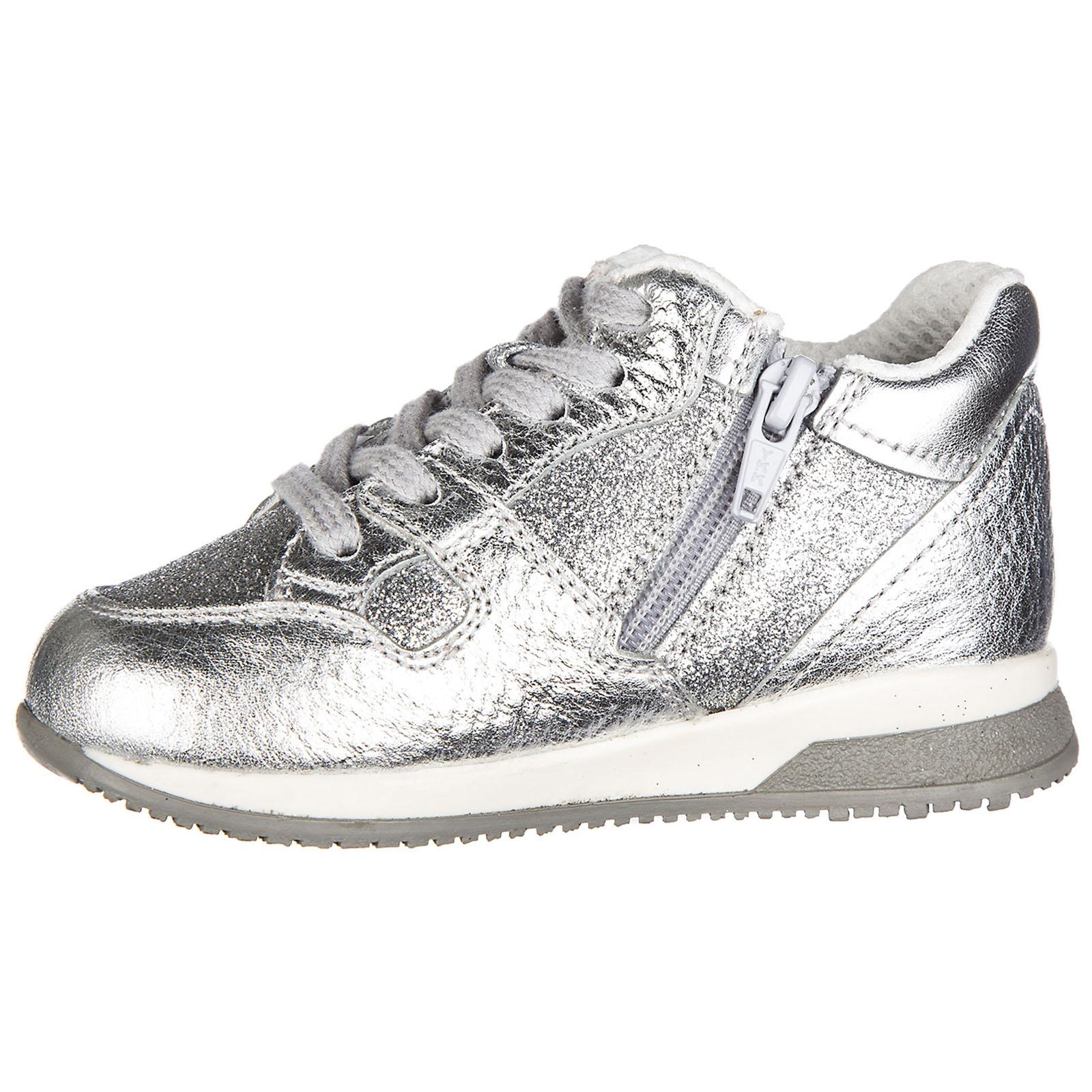 84f3485175c8ec ... Scarpe sneakers bimba bambina pelle elective h grande zip ...
