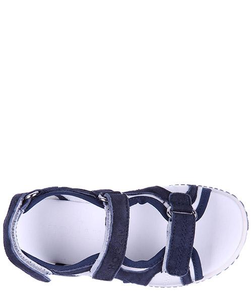Sandales enfant garçon en cuir j114 tri-strap secondary image