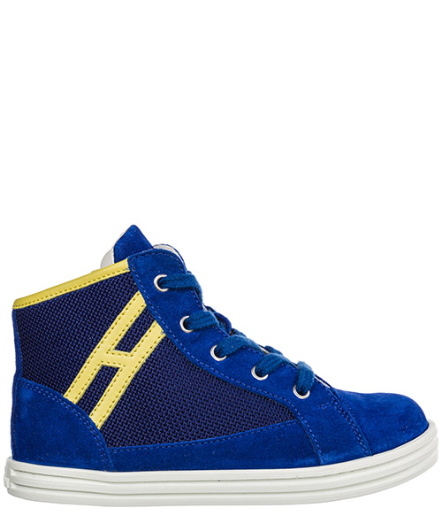 High-top sneakers Hogan R141 HXT1410K210IBQ0KLN blu