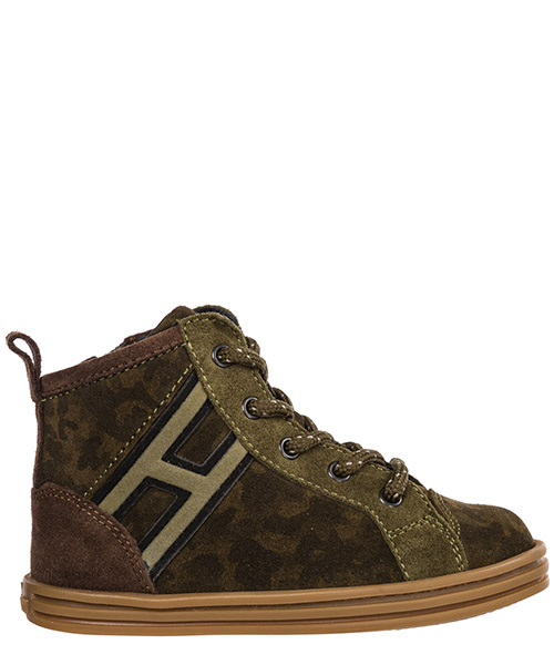 High-top sneakers Hogan r141 hxt1410z450hcu9az9 marrone
