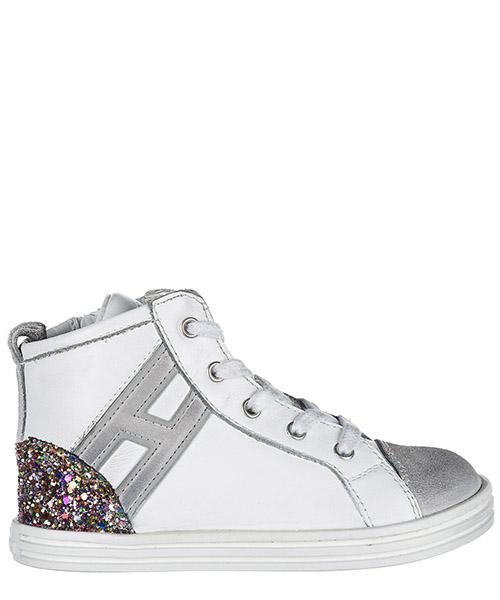 Sneakers alte Hogan R141 HXT1410Z450HXW527G bianco