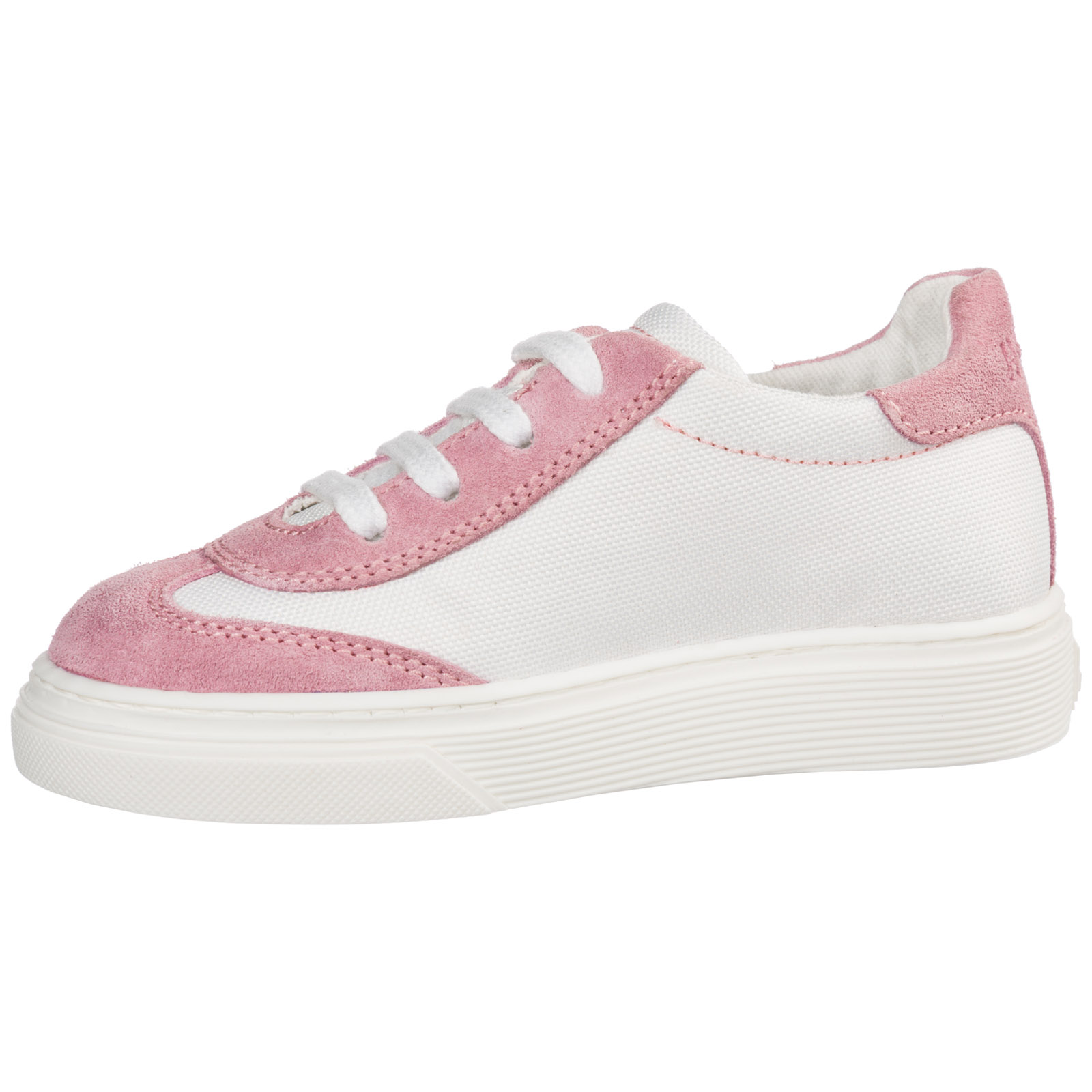 Scarpe sneakers bimba bambina camoscio h365