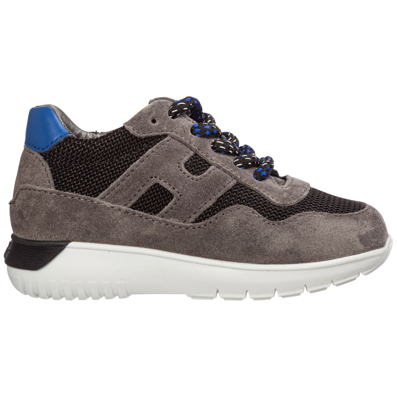 Hogan Sneakers BOYS SHOES BABY CHILD SNEAKERS SUEDE LEATHER INTERACTIVE3
