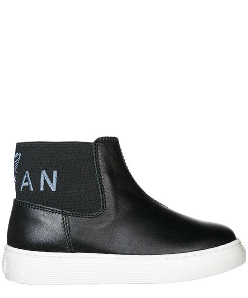 Sneakers alte Hogan j340 HXT3400AV30FH5B999 nero
