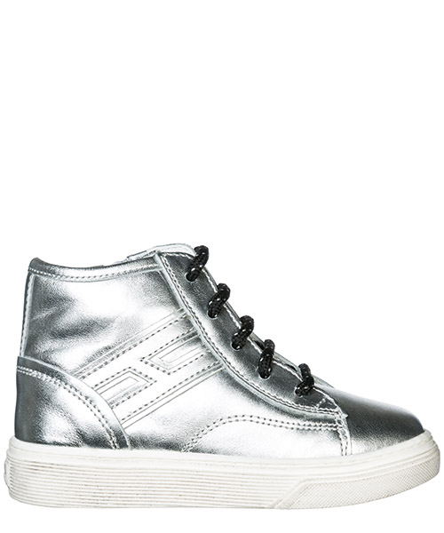 High top sneakers Hogan H365 HXT3400K280FH0B200 argento
