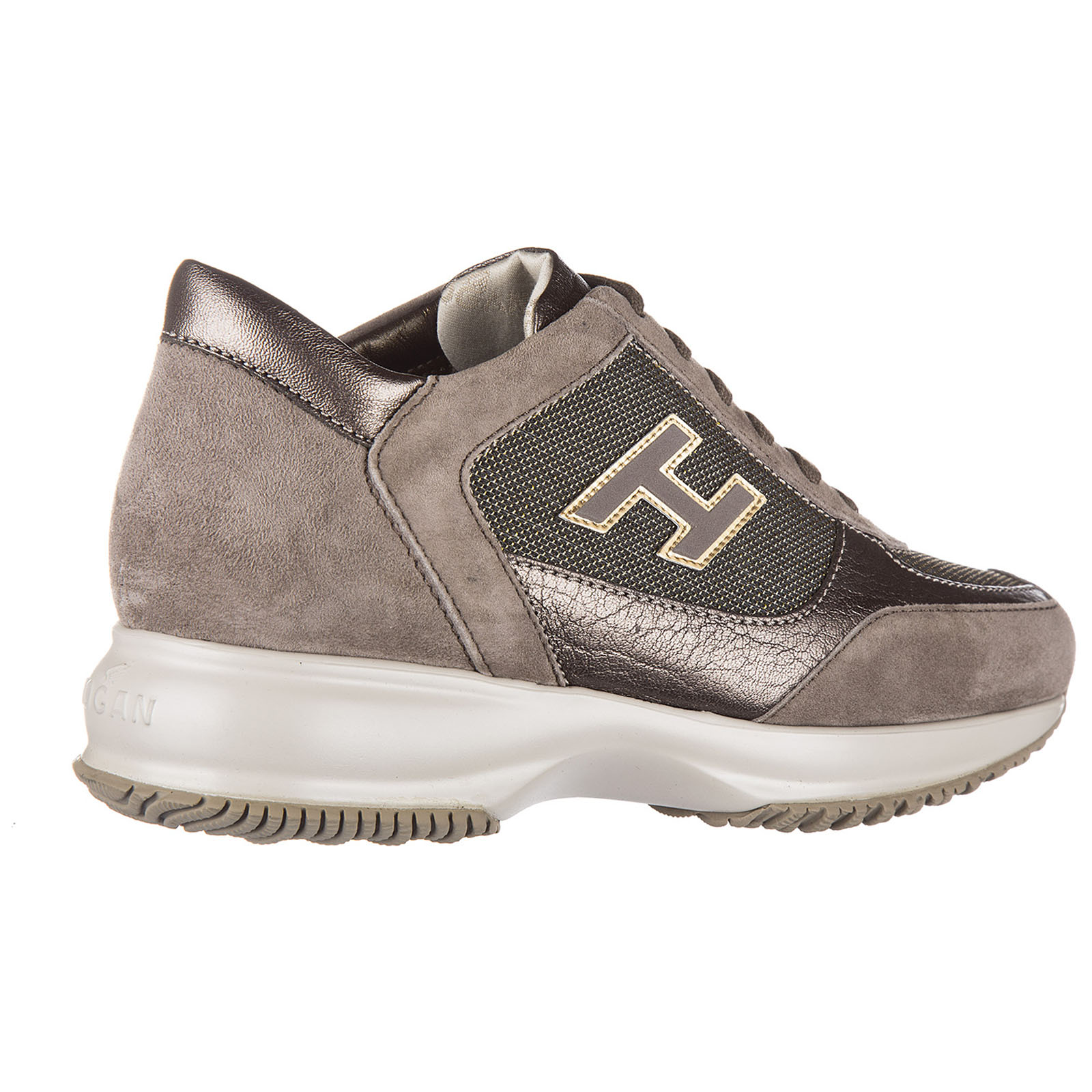 544d150cebf7 ... Women s shoes suede trainers sneakers interactive h flock ...