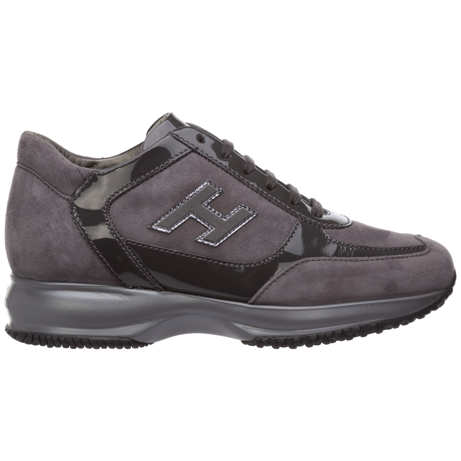 2df7a438f132 Hogan Women s shoes suede trainers sneakers interactive h flock