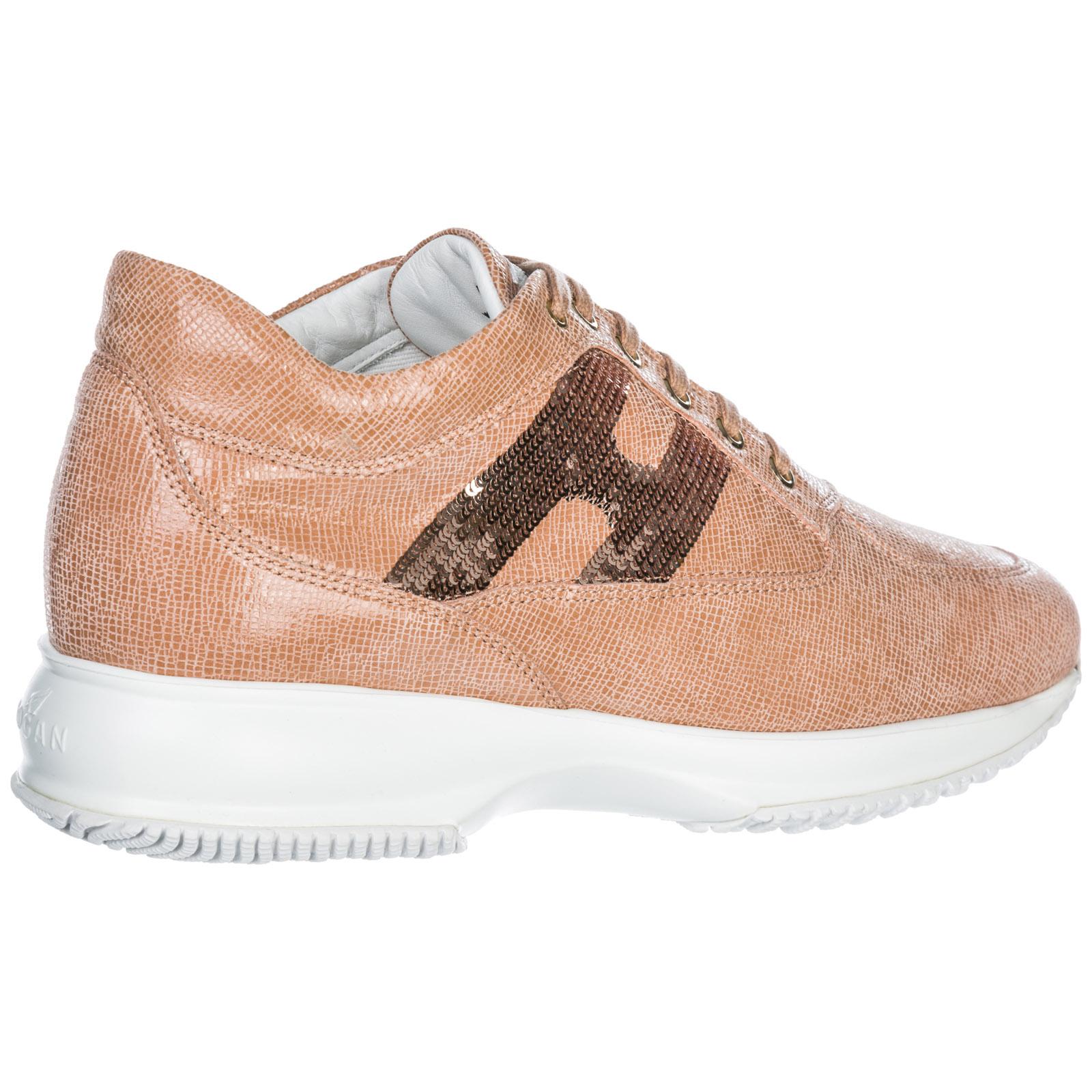Sneakers Hogan Interactive HXW00N05641FF8M413 rosa  107fa373359
