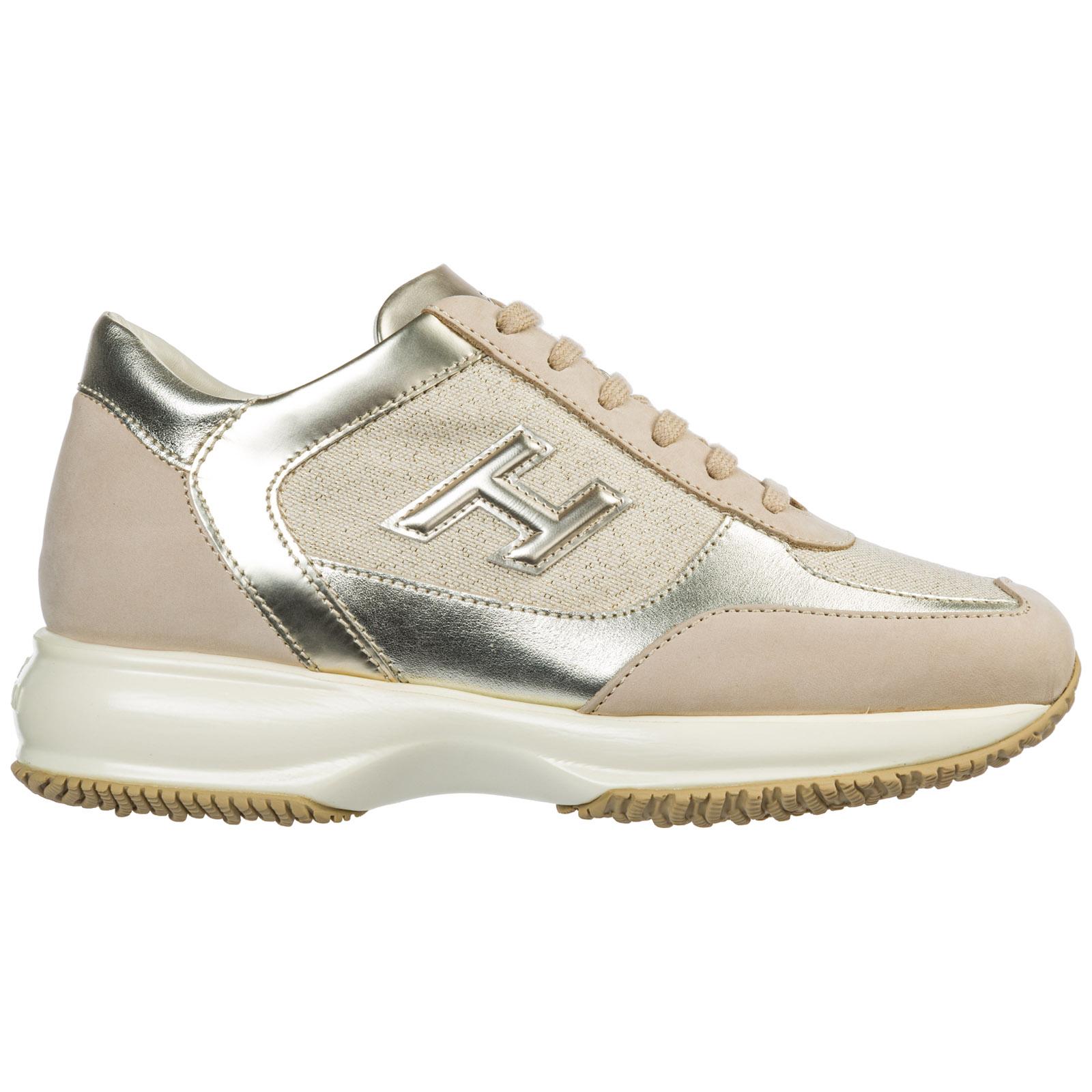 the best attitude 3b3f6 75ef2 Scarpe sneakers donna in pelle interactive