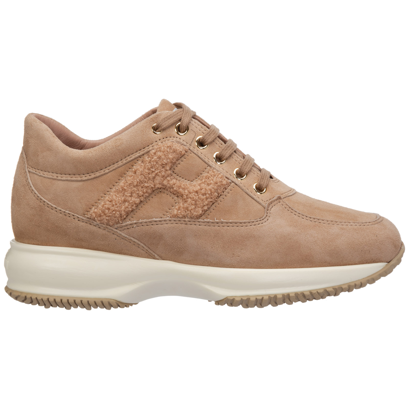 Women's shoes suede trainers sneakers interactive