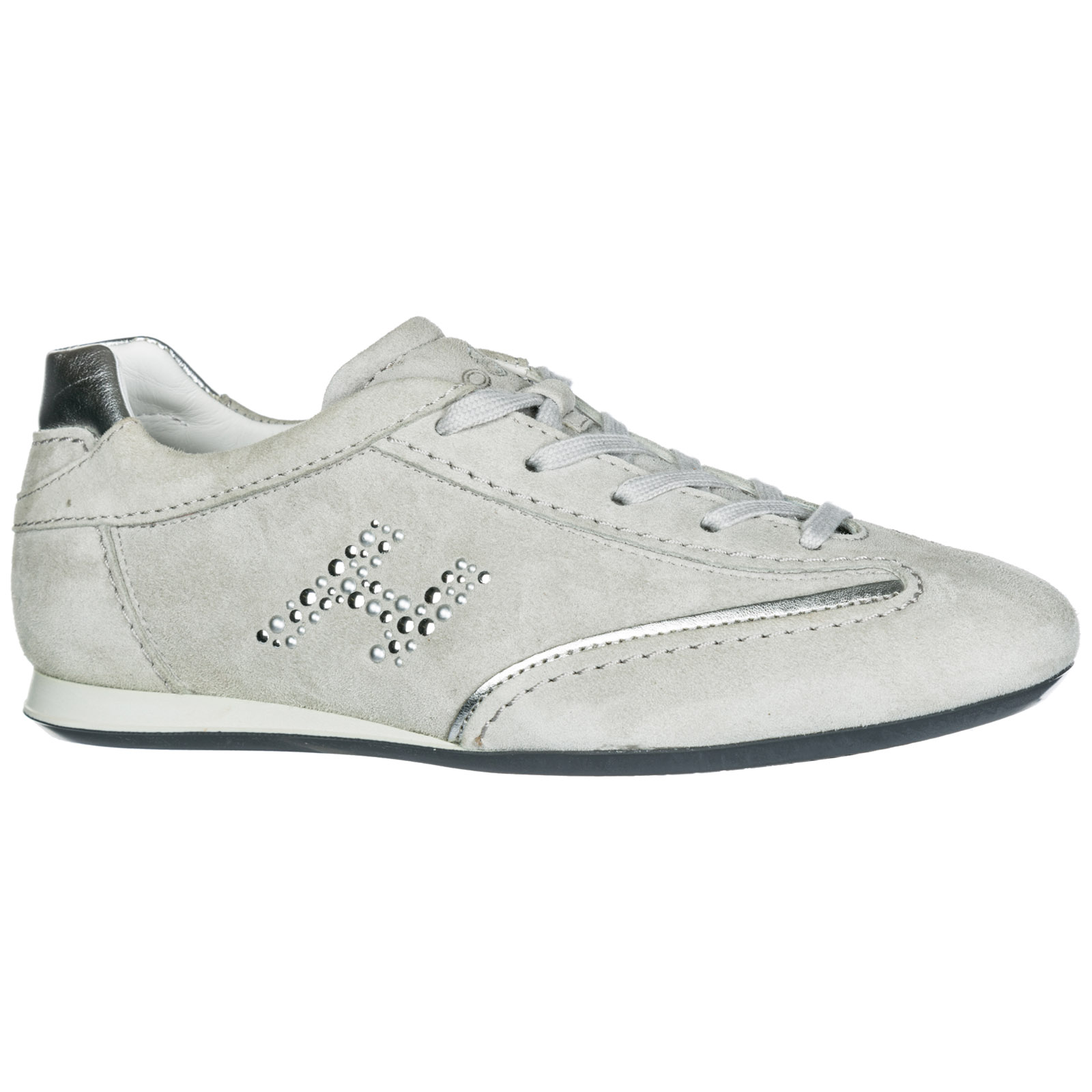 184696759db02 Sneakers Hogan Olympia HXW0520Q060Q25109A argento nebbia