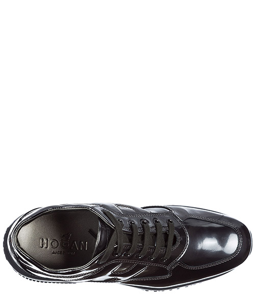 Scarpe sneakers donna in pelle interactive secondary image