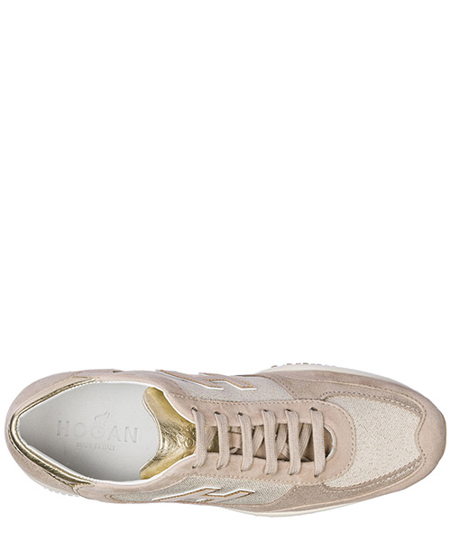 Scarpe sneakers donna camoscio interactive secondary image