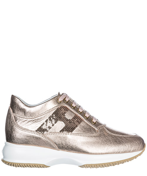 Sneakers Hogan Interactive HXW00N05641I6EM600 salmone chiaro