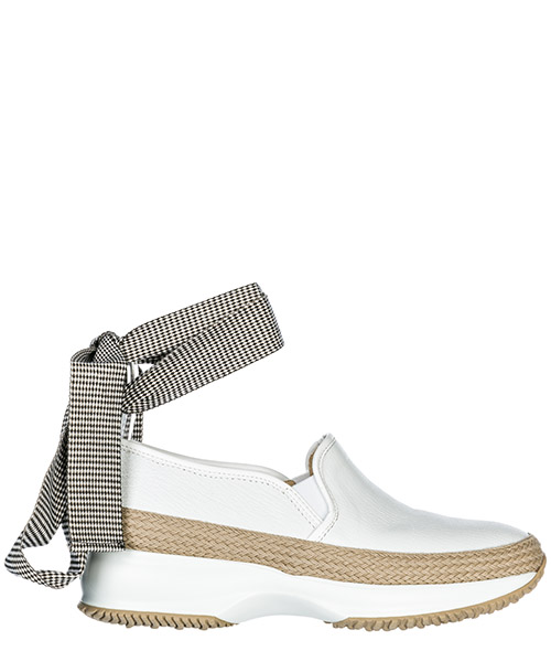 Slip on Hogan Interactive HXW00N0AG20IIRB001 bianco