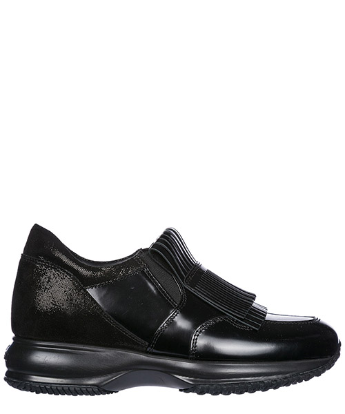 Scarpe slip on Hogan HXW00N0J170HRKB999 nero