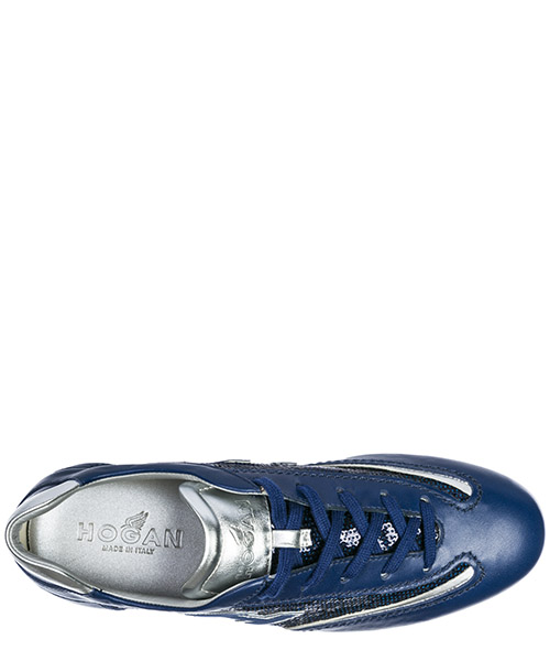 Women's shoes leather trainers sneakers olympia h flock secondary image
