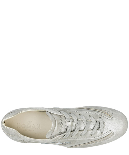 Women's shoes suede trainers sneakers olympia secondary image