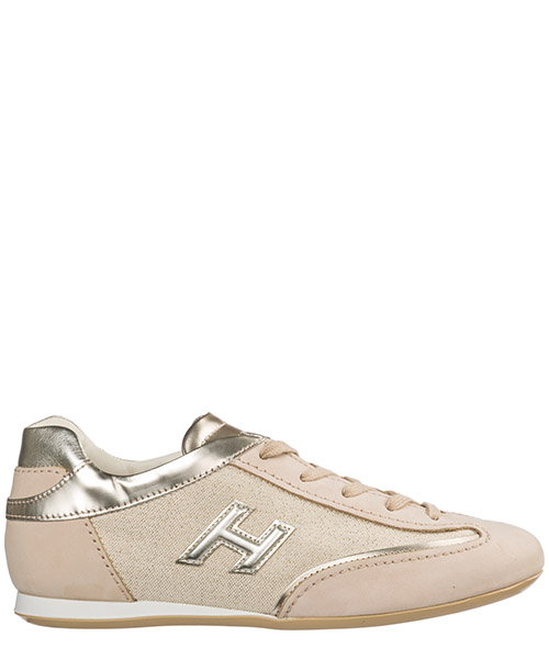 Women's shoes leather trainers sneakers olympia