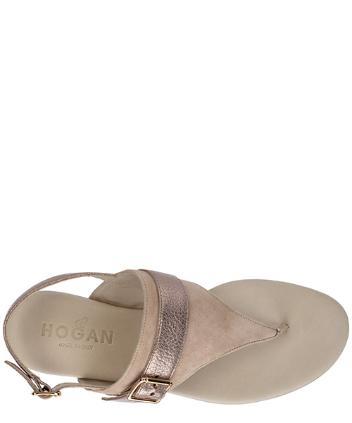 Women's suede sandals secondary image
