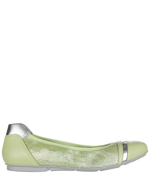 Ballet flats Hogan HXW1440M8617ZC074Z verde