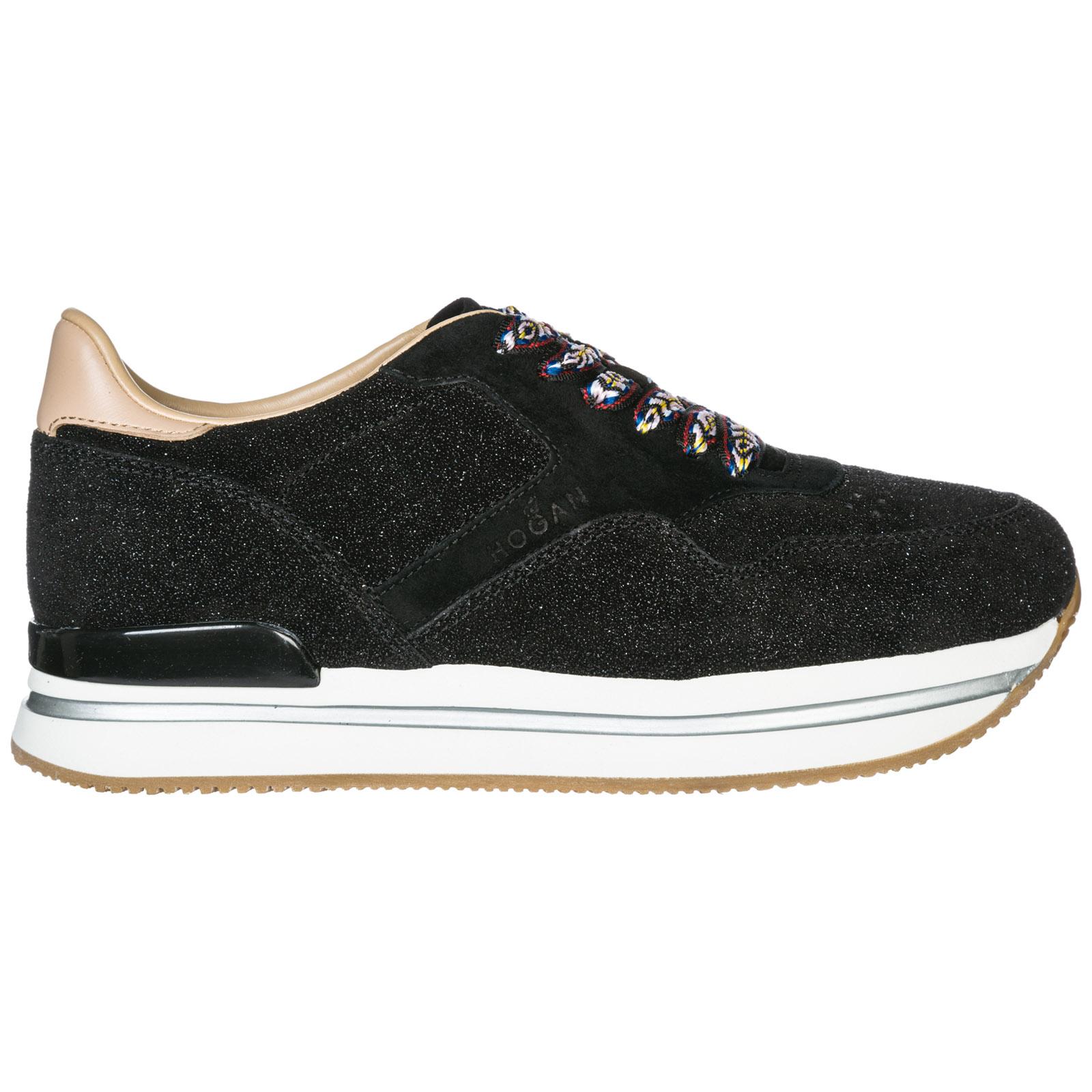 a12f08b9e Sneakers Hogan H222 HXW2220M468JDJ079X nero   FRMODA.com