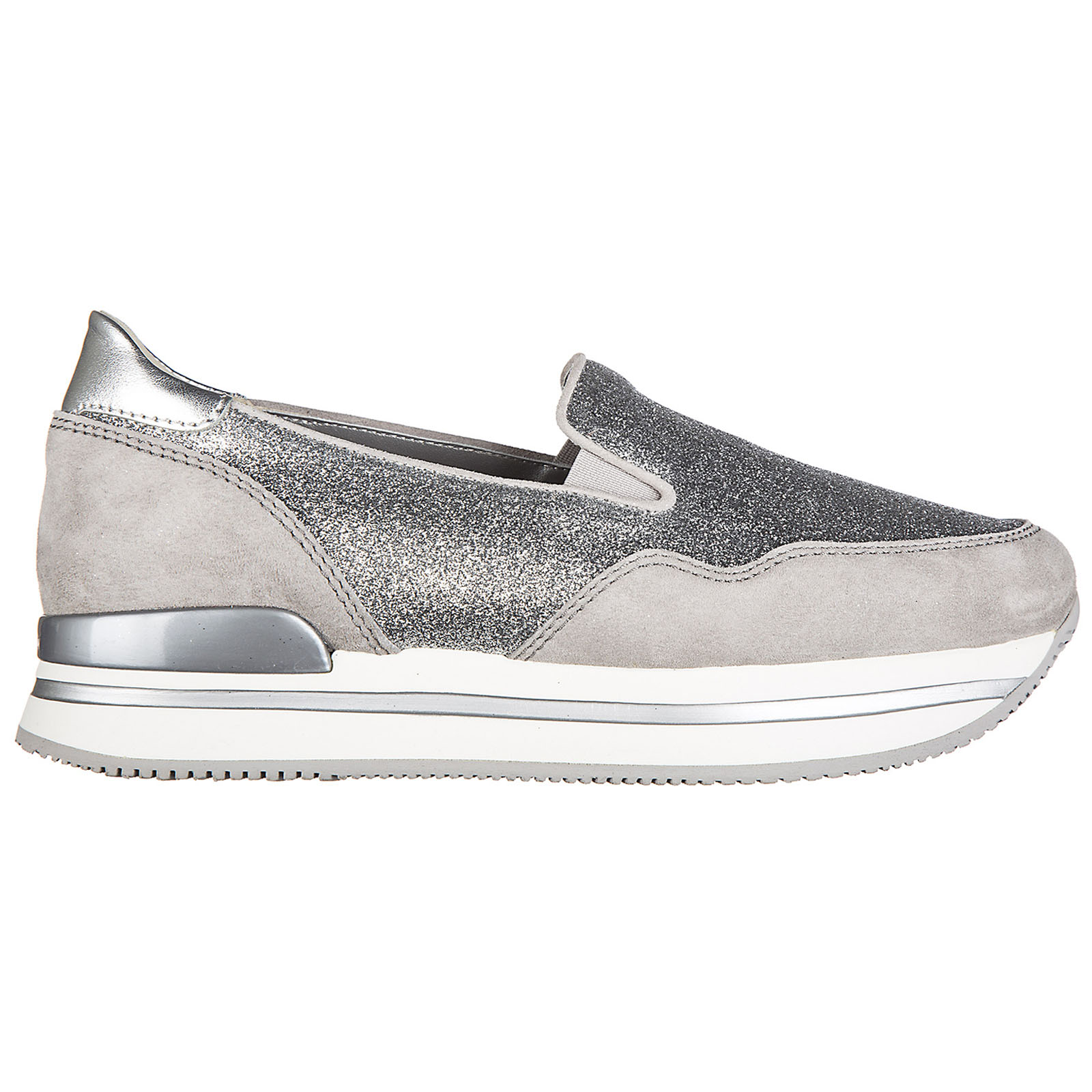 Slip on donna in camoscio sneakers