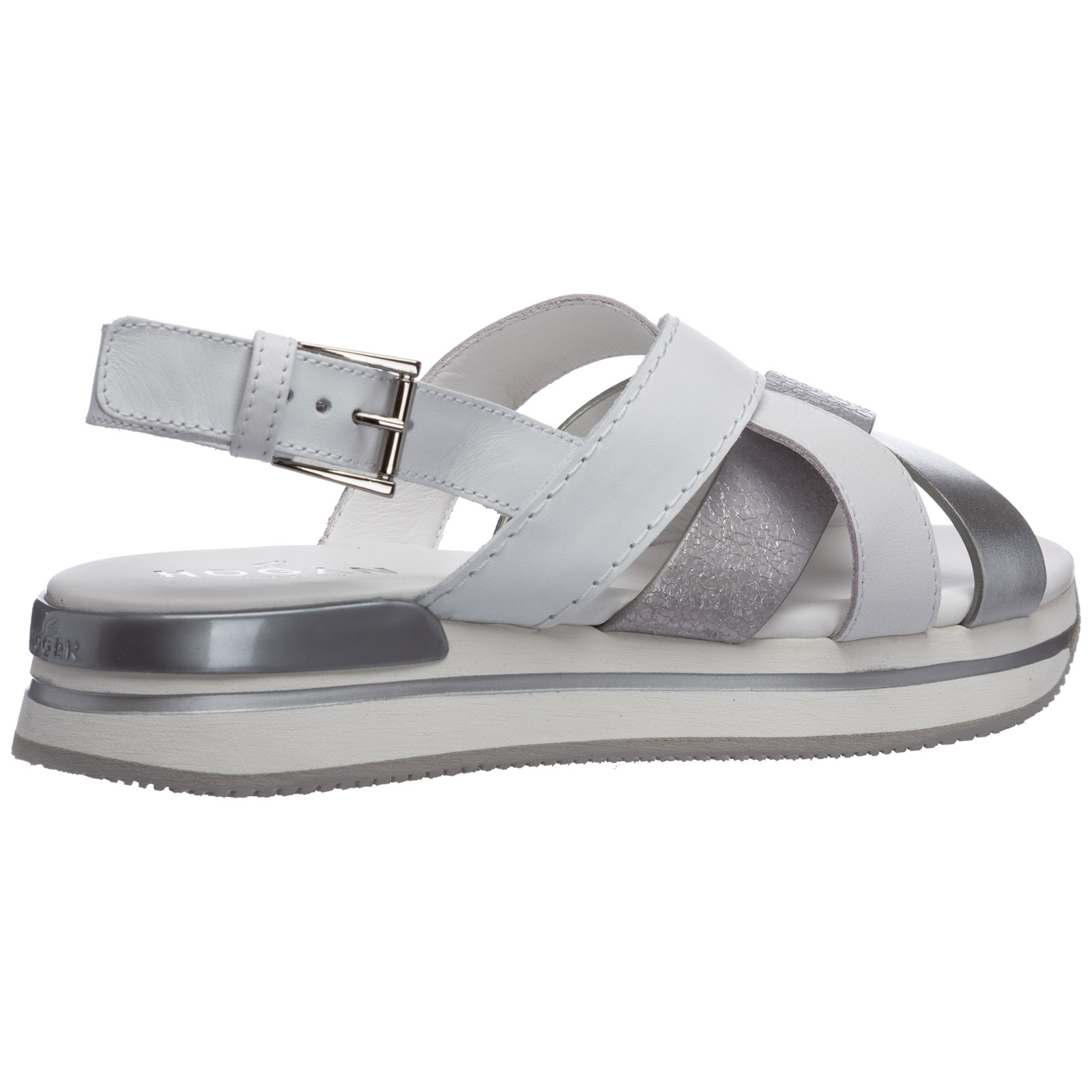 Women's leather heel sandals h222