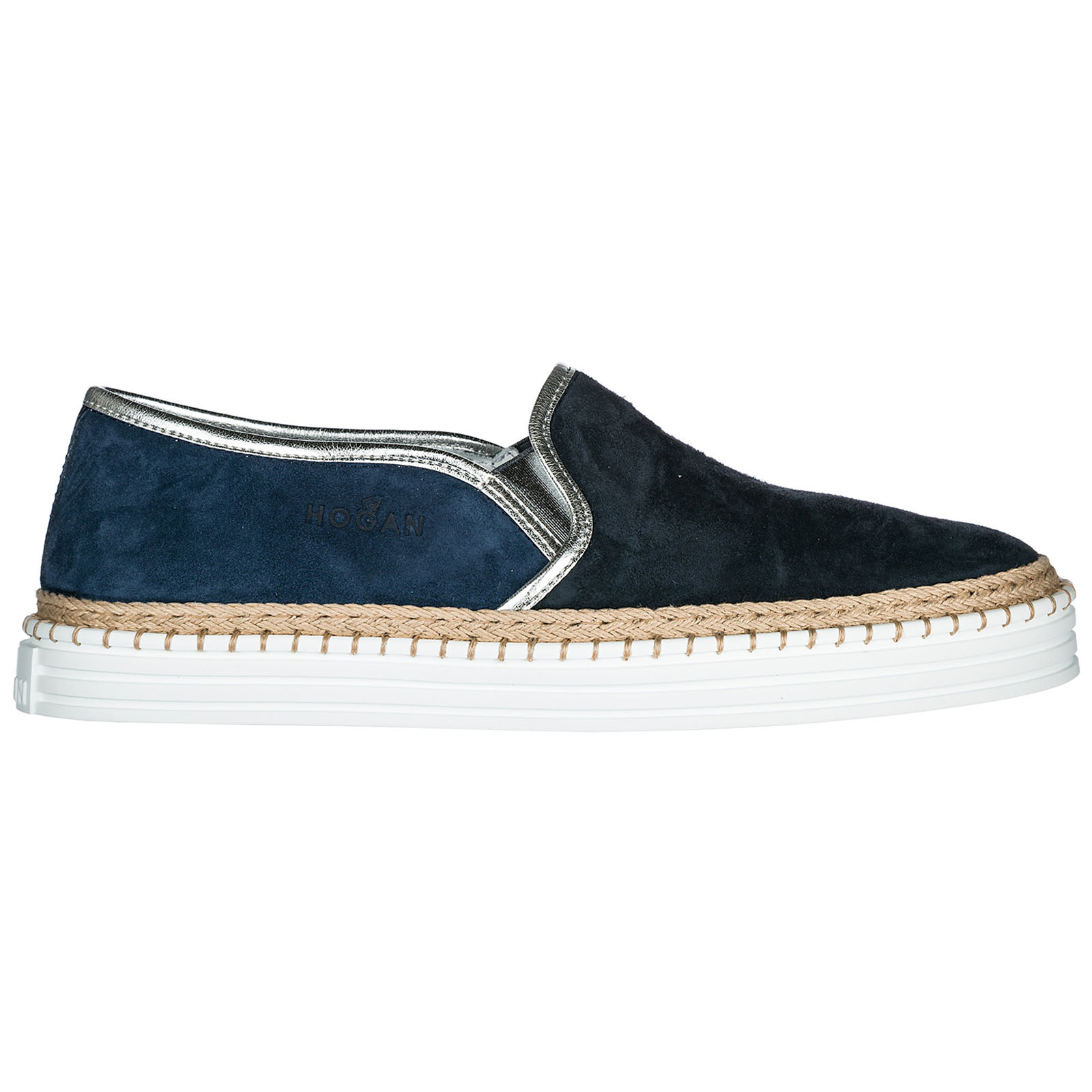 Slip on donna in camoscio sneakers r260