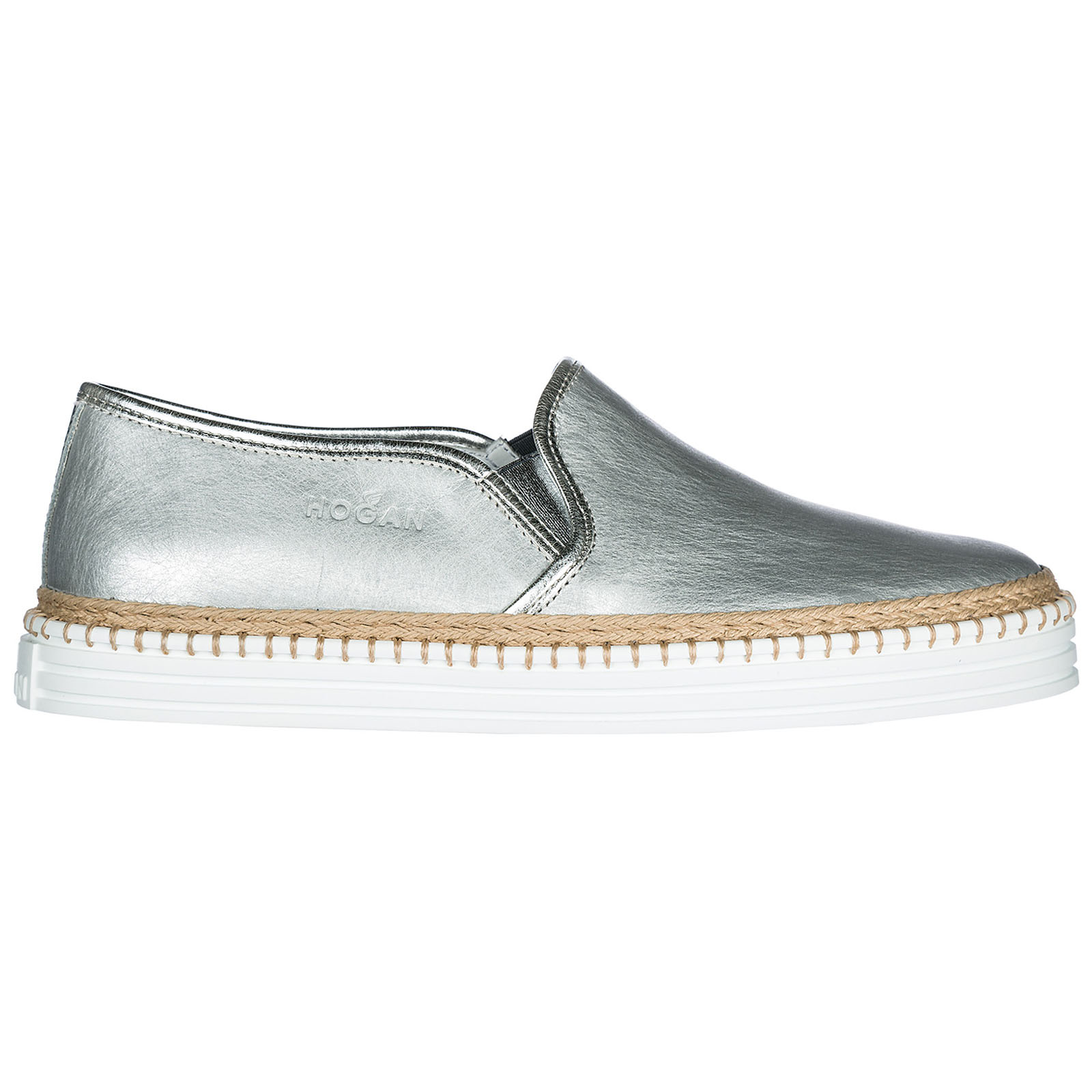 Slip on donna in pelle sneakers r260