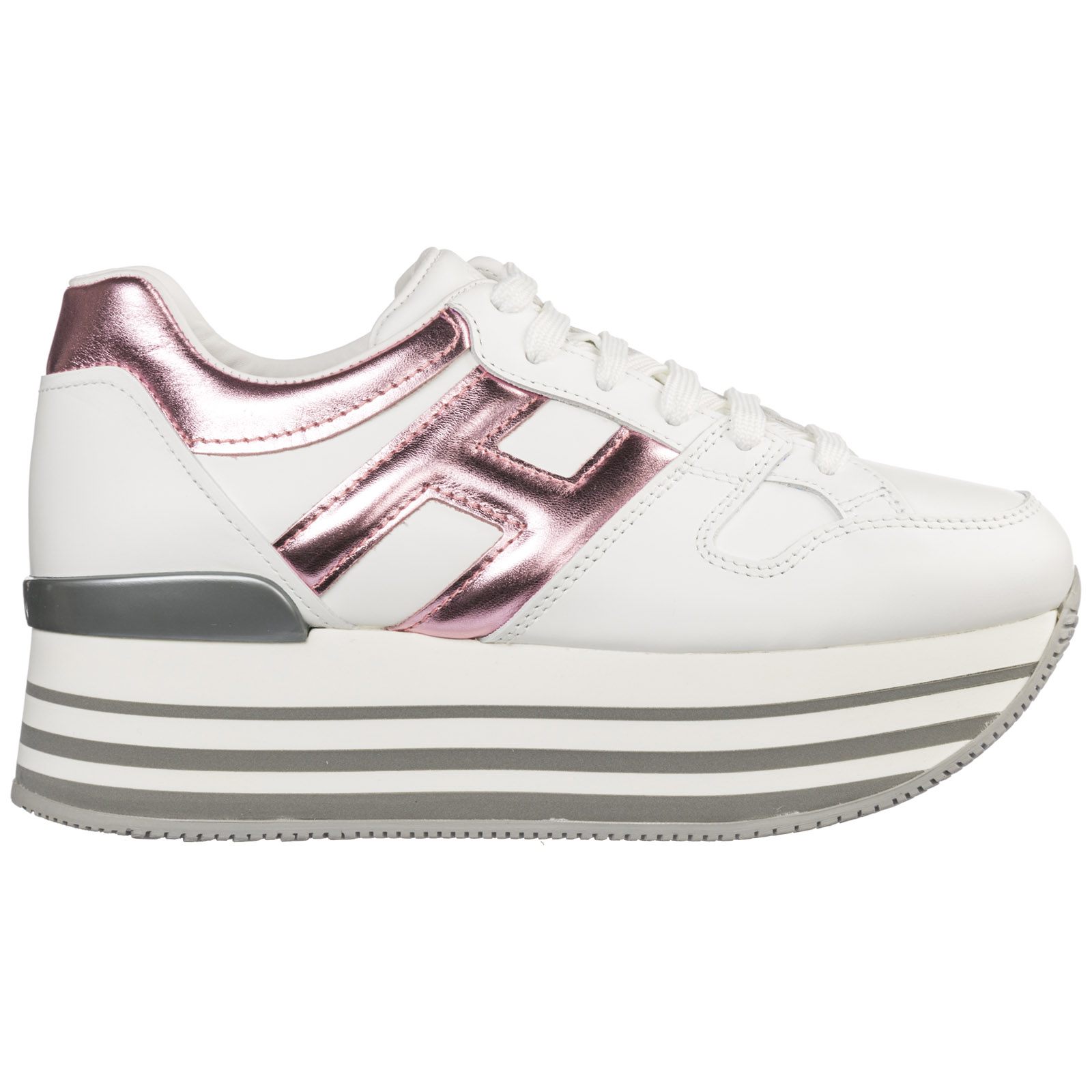 c06b568f2deb0 Wedge sneakers Hogan Maxi H222 HXW2830T548I6W0XVW bianco